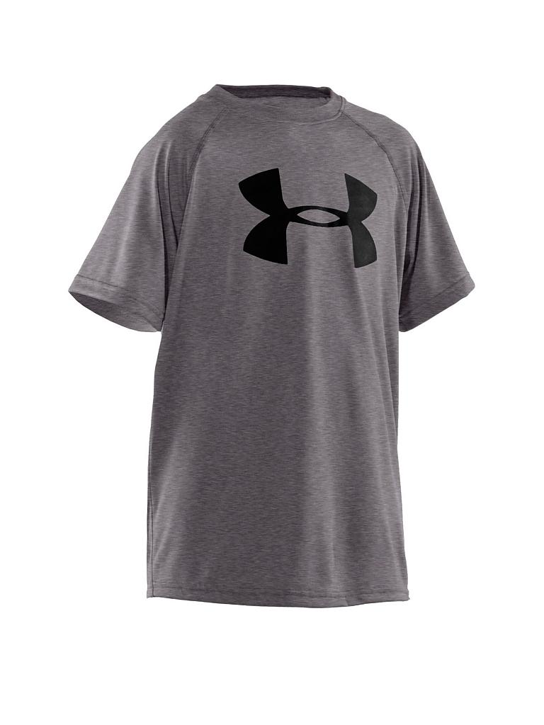 UNDER ARMOUR | Kinder T-Shirt Tech Big Logo | grau