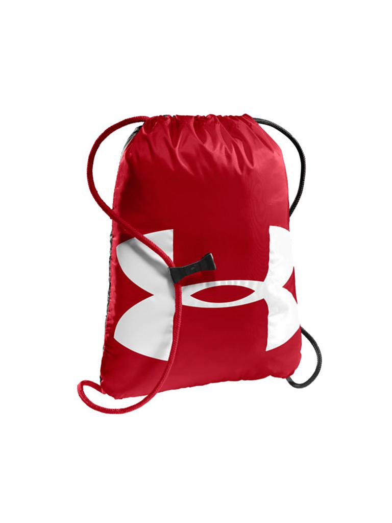 UNDER ARMOUR | Turnbeutel Ozsee Sackpack | rot