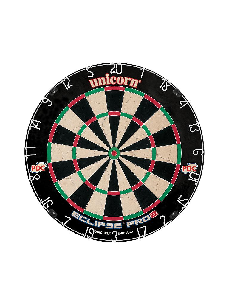 UNICORN | Dartboard Eclipse Pro2 | schwarz