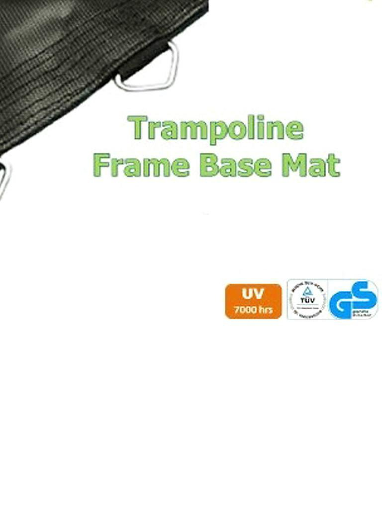 v3tec trampolin inklusive netz 4m blau. Black Bedroom Furniture Sets. Home Design Ideas
